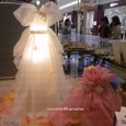 落水紙のウエディングドレス